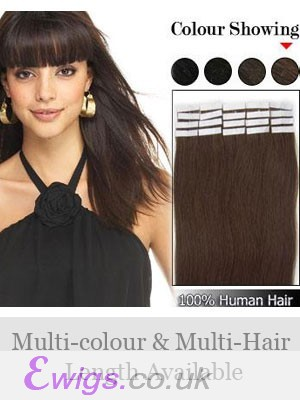 """Sweet 16"""" 20pcs Straight Tape In Hair Extensions"""