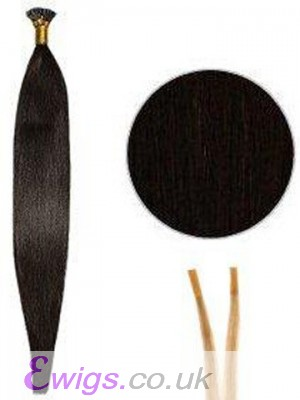 "16"" Silky Stick/I Tip Hair Extensions"