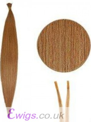 Natural Silky Stick/I Tip Hair Extensions
