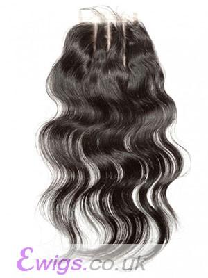 Loose Wave Three Part Human Hair Lace Closure