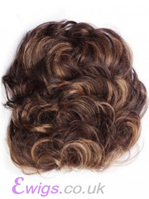 Stunning Pull Thru Human Hair Clip In Hairpiece
