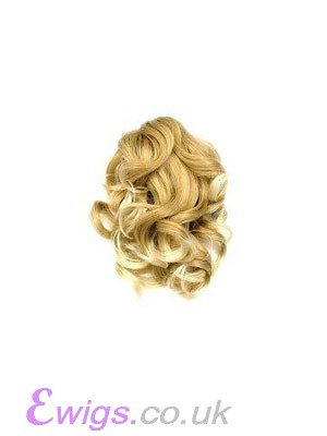 Blonde Charming Claw Clip Ponytails