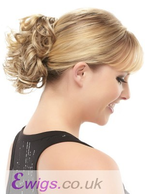 Claw Clip Synthetic Curly Wrap