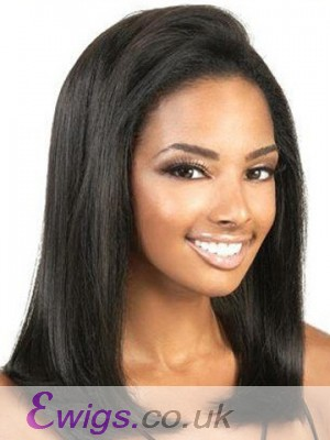 Straight Remy Human Hair Front Wig