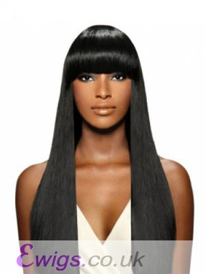Fashion Capless Long Human Hair Wig