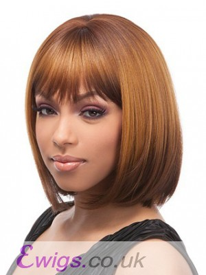 Pretty Straight Synthetic Capless Wig