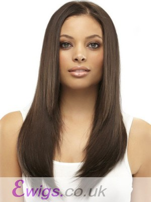 Smooth Straight Lace Front Synthetic Wig