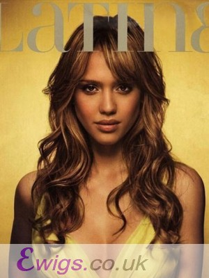 Jessica Alba New Hairstyle Lace Front Wig