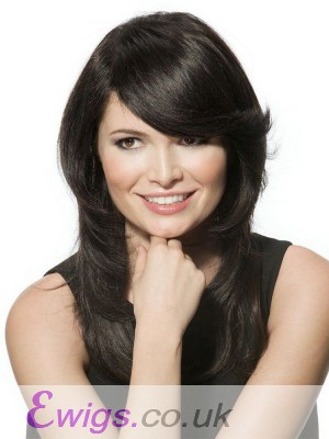 Elaborately Straight Capless Remy Human Hair Wig