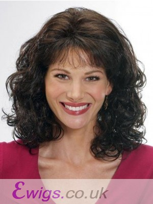 Charming Wavy Capless Remy Human Hair Wig