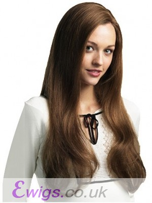 Long Straight Remy Human Hair Wig