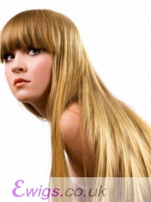 Capless Straight Incredible Remy Human Hair Wig