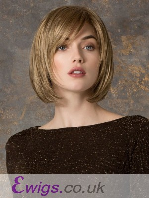 Blonde Lace Front Bob Human Hair Wig