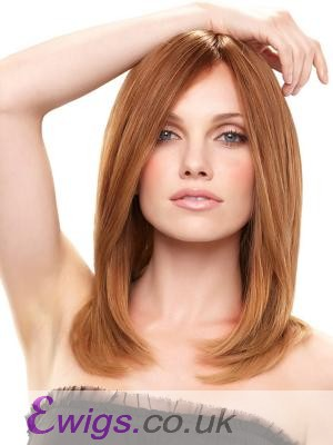 Lace Front Straight Remy Human Hair Wig