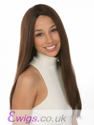 Most Popular Straight Monofilament Human Hair Wig