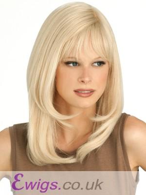 Marvelous Capless Straight Human Hair Wig