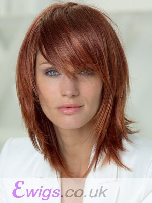 Straight Stylish Capless Human Hair Wig