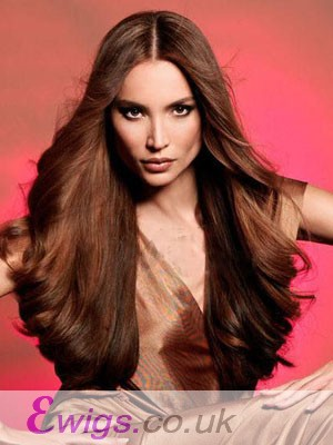 Awesome Long Wavy Human Hair Full Lace Wig