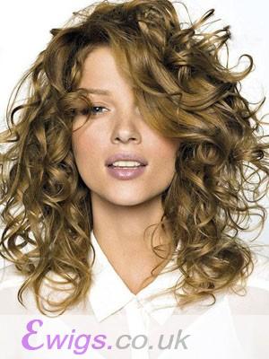 Voluminous Long Wavy Human Hair Lace Front Wig