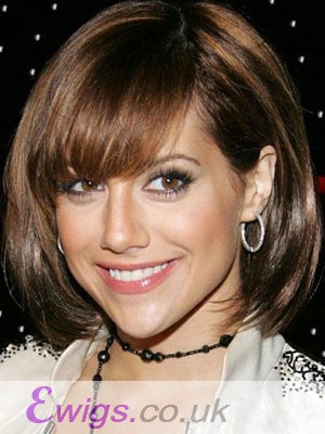 Awesome Straight Human Hair Capless Wig