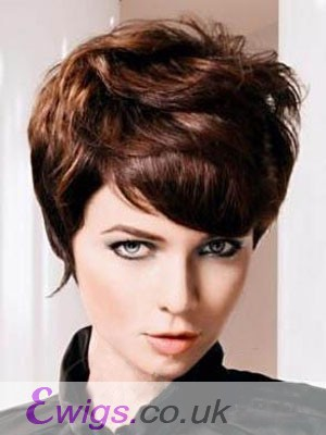 Popular Wavy Remy Human Hair Capless Wig