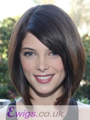 Nice-looking Straight Capless Human Hair Wig