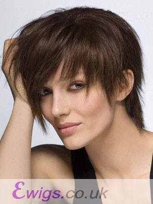 Attractive Straight Capless Human Hair Wig