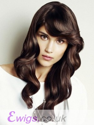Graceful Lace Front Wavy Synthetic Wig