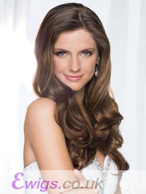 Comfortable Long Wavy Synthetic Lace Front Wig