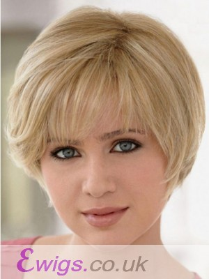 Human Hair Full Lace With Mono Short Lightweight Wig