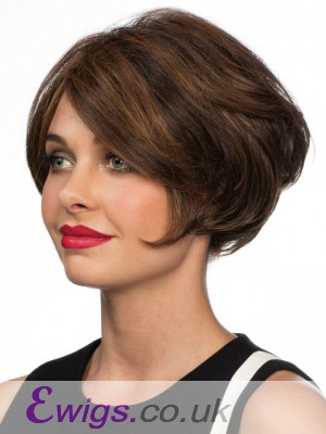High Quality Human Hair Wavy Lace Front Wig