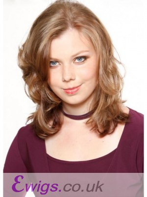 Stylish Wavy Lace Front Synthetic Wig