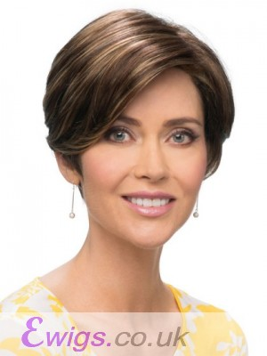 Pixie Cut With A Smooth Wig