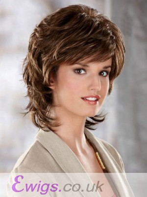 Flowing Layers Synthetic Wig