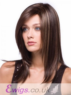 Medium Length Synthetic Wig