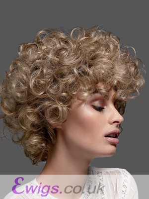 Graceful Curly Lace Front Synthetic Wig