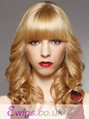 Chic Wavy Medium Length Capless Synthetic Wig
