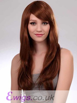 Graceful Straight Long Capless Synthetic Wig