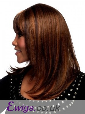 Capless Straight Synthetic Wig
