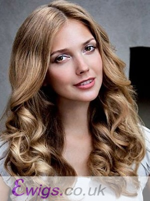 Magnificent Wavy Lace Front Synthetic Wig