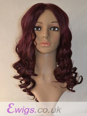 Pretty Lace Front Wavy Synthetic Wig