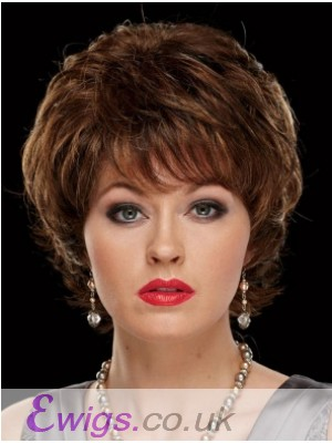 Fashionable Wavy Capless Synthetic Wig