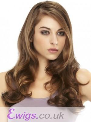 Graceful Wavy Remy Human Hair Half Wig