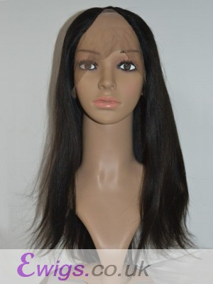 Natural Straight Remy Hair U Part Wig