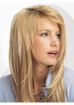 """Straight 10 Pcs 16"""" Synthetic Clip In Hair Extensions"""