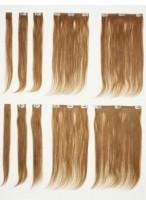 Straight 10 Pcs Clip In Human Hair Full Head Extensions