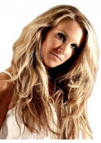 """18"""" One Full Piece Clip In Human Hair Extensions"""