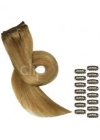"16"" Fashionble Diy Set Clip In Hair Extensions"