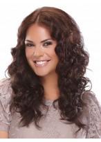 "16"" Heat Defiant Human Hair Wavy Hair Extensions"