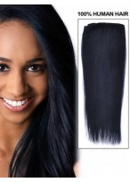 "16"" Straight Remy Hair Extensions With Clips"